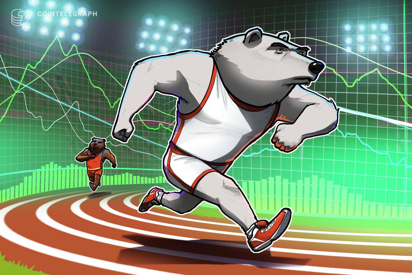 熊市退缩,但比特币价格仍低于 35,000 美元