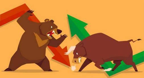 "A股市场:炒股先看K线出现""锤头线""股价止跌!"