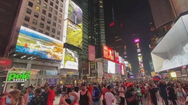 """""""文化黄河,走向世界""""刷屏美国纽约百老汇"""