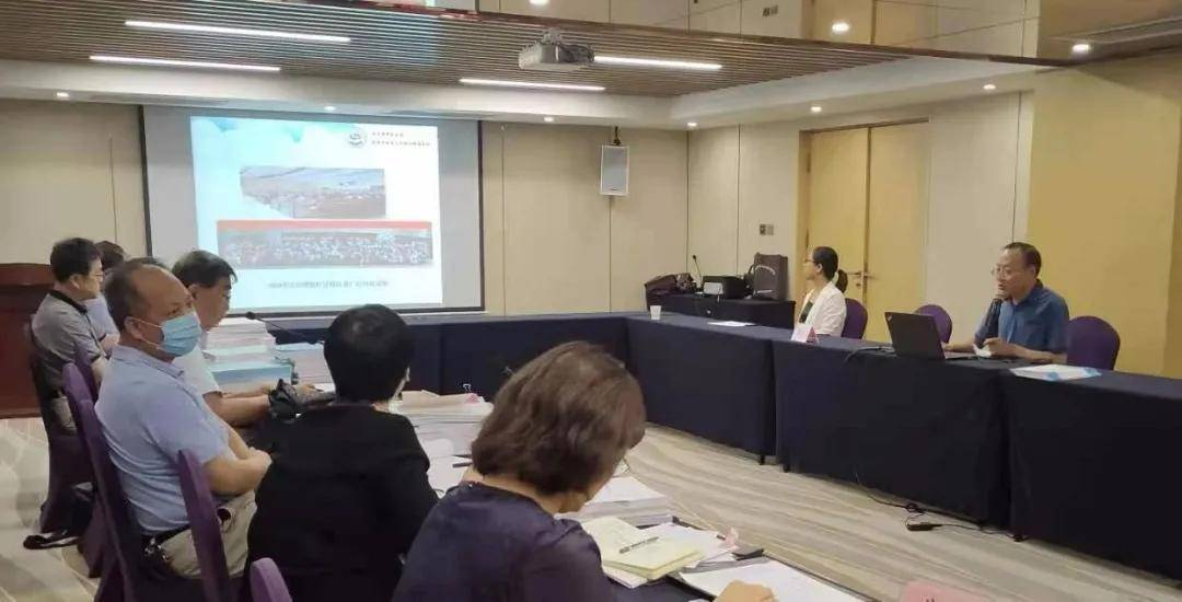 安军明主任参加2021年西安市院士专家工作站绩效考核答辩会