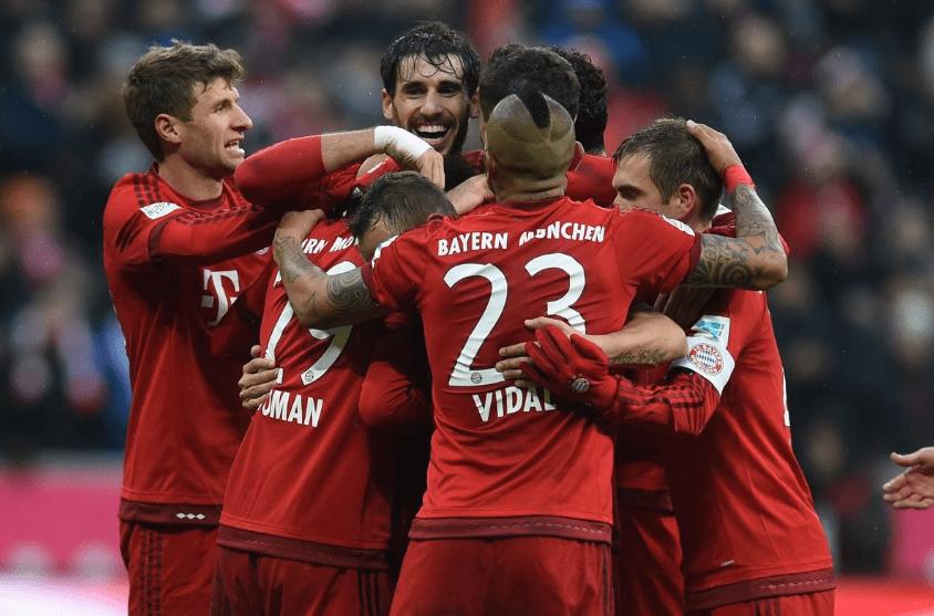 德甲联赛太混乱,之前还是榜首的拜仁,现在成了第三                                   图2