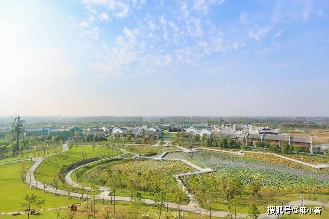 江苏一生态与景观结合的城市,是丹顶鹤越冬之地,还有苏北第一湖