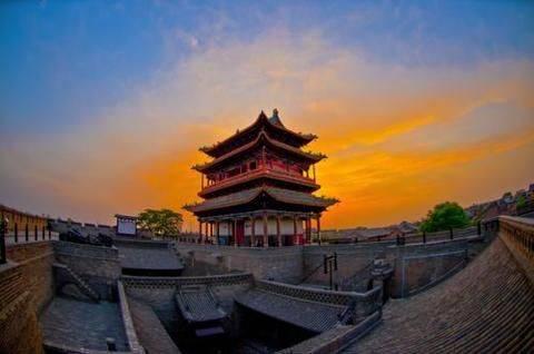 平遥古城:位于山西的中国世界遗产,距今已有2700多年历史