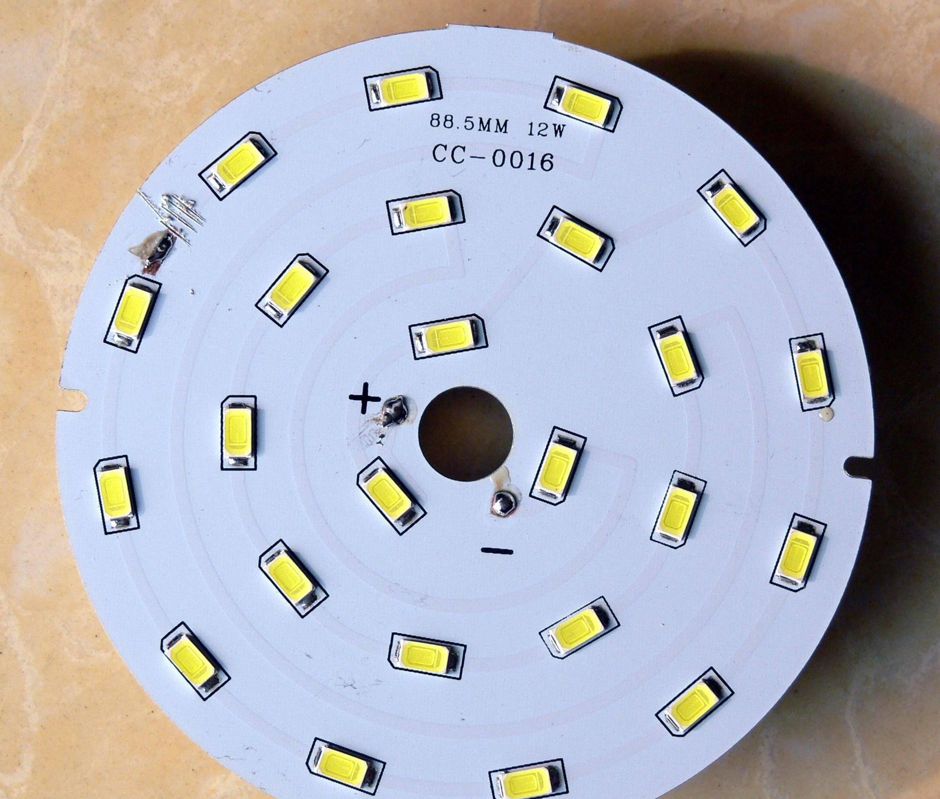 简述led灯的发光原理_发光图片