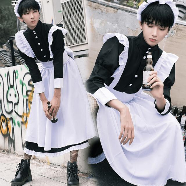 图片[12]-男人穿洛丽塔裙子是什么画风?因热爱,画面崩坏-妖次元