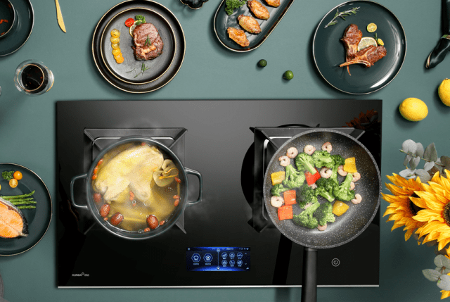 智能灶   烹饪换新姿,生活焕新颜