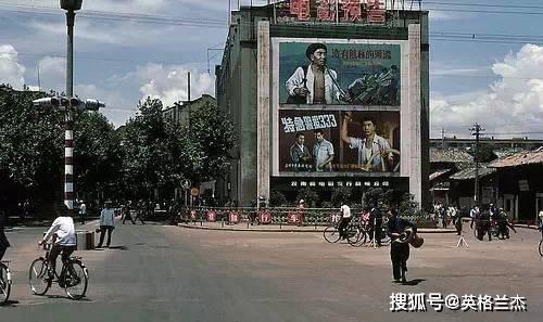 """云南""""昆明""""老照片,80年代街头景象,看下这些场景你认得多少"""