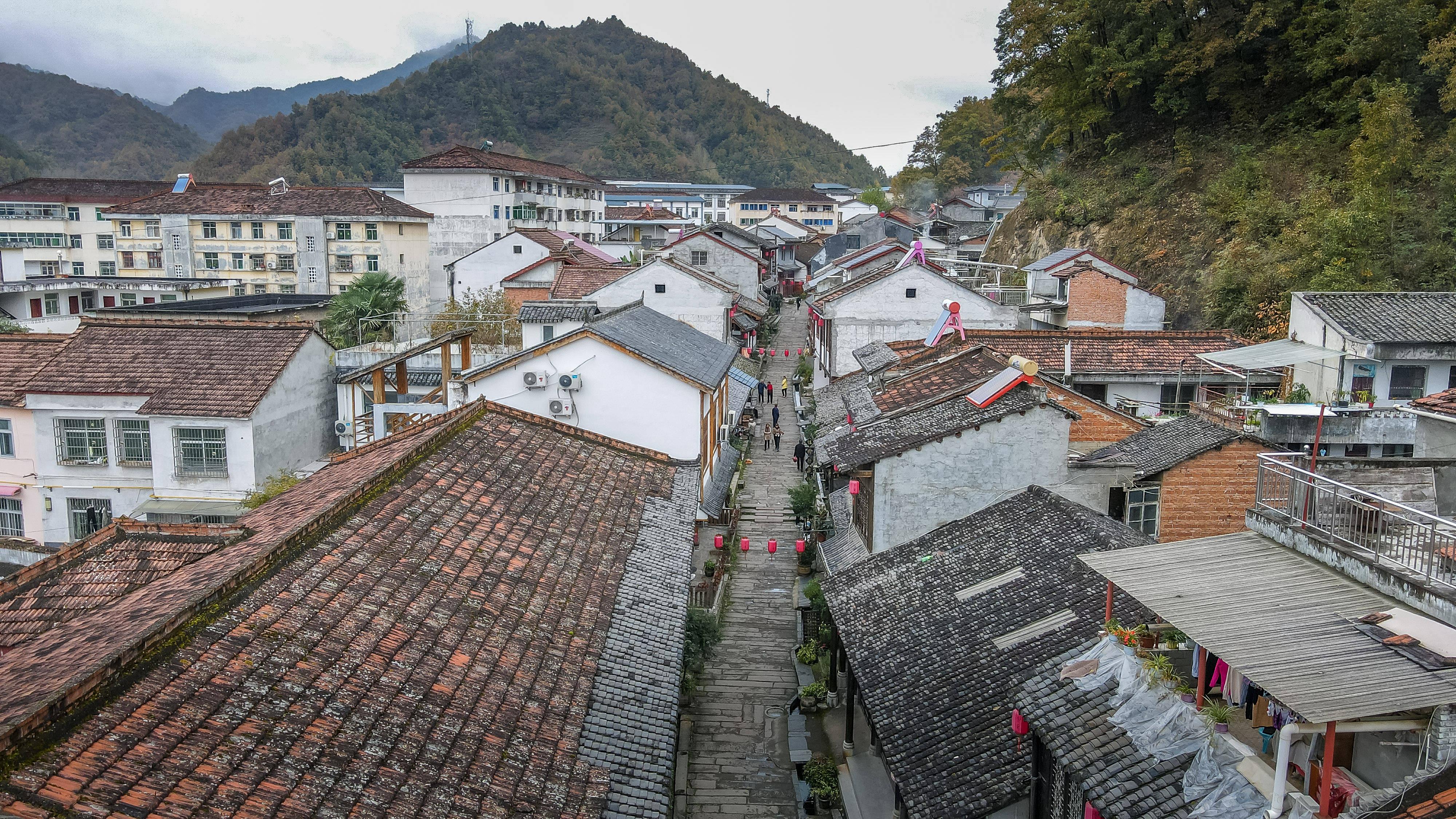 陕西秦岭深处的千年古镇,特色美食石头鱼,家家味儿不同