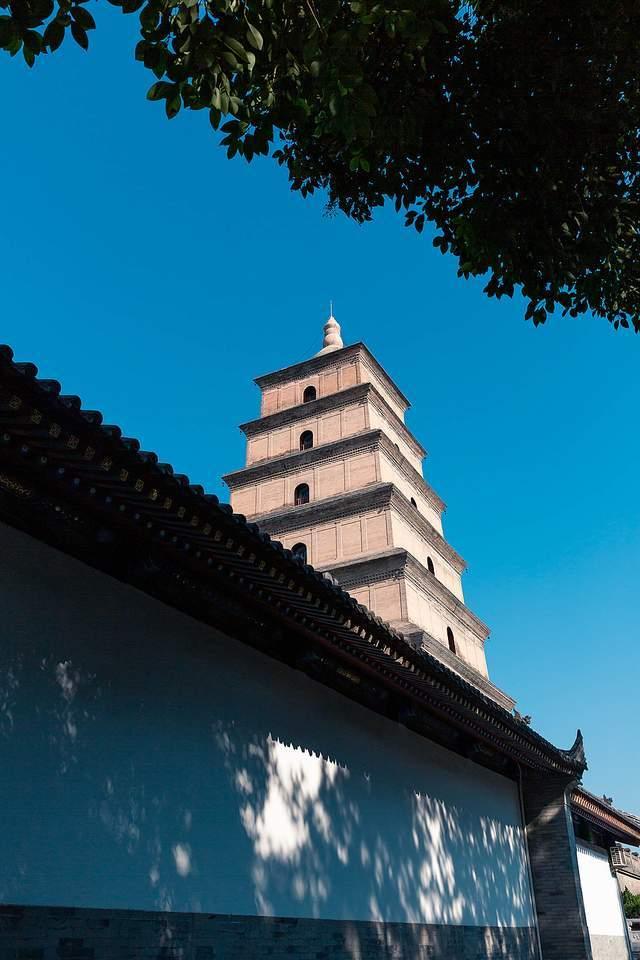 """来自唐朝,砖混结构,大雁塔为何以""""大雁""""为名?"""