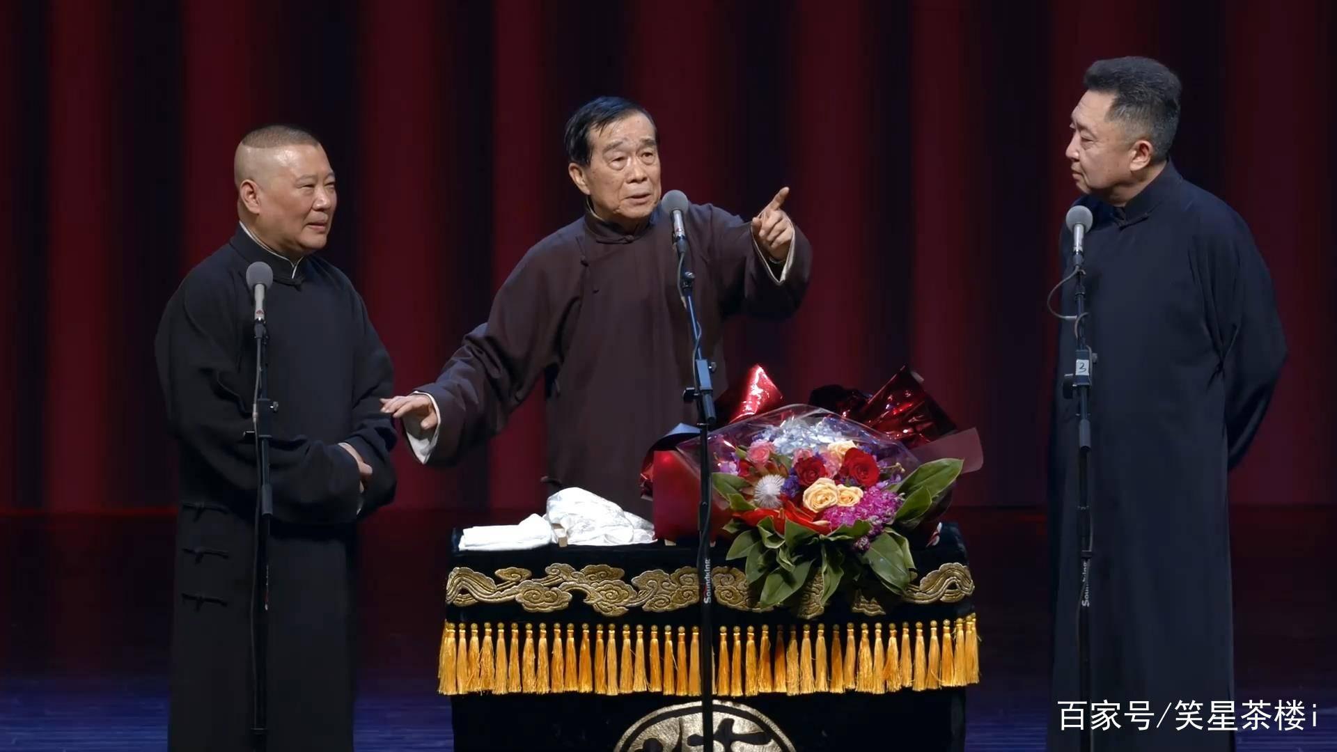 相声大师石富宽,孙越和于谦的师傅,与侯耀文搭档四十多年