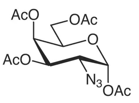 ,3,4,6-四-O-乙酰基-2-叠氮-2-脱氧-α-D-吡喃半乳糖,67817-30-5实验室直供