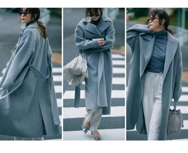 独属秋天的颜色不止只有大地色!黑色,灰色照样穿出秋天的高级感