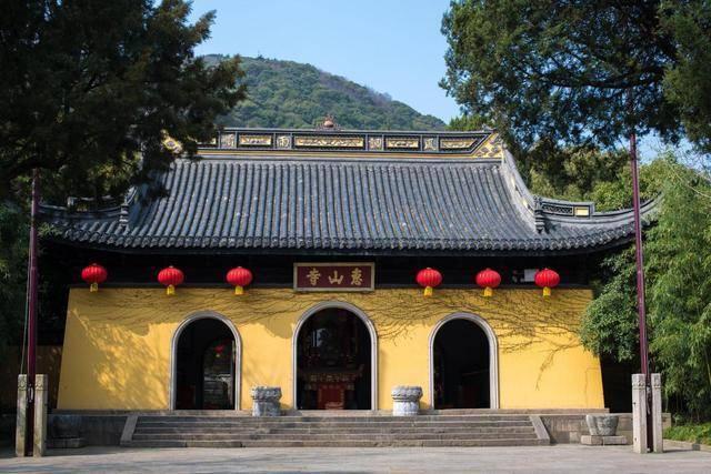 南朝480寺之一,从乾隆帝到李鸿章,十件古迹解读惠山寺千年历史