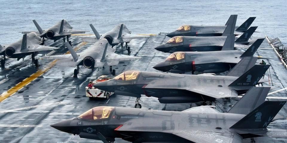 F-35B是目前世界上唯一列装的第五代舰载战斗机