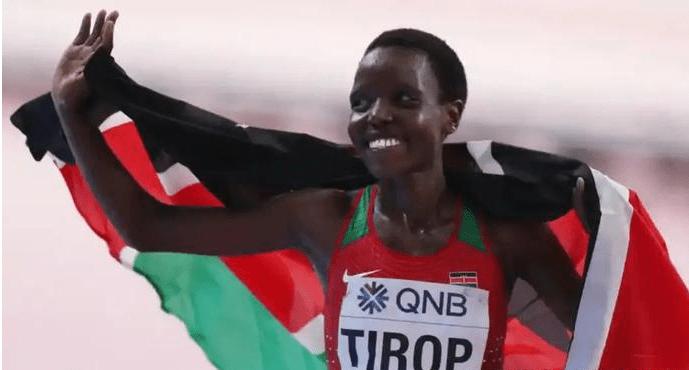 惋惜!肯尼亚长跑女星上个月刚破世界纪录,昨日却