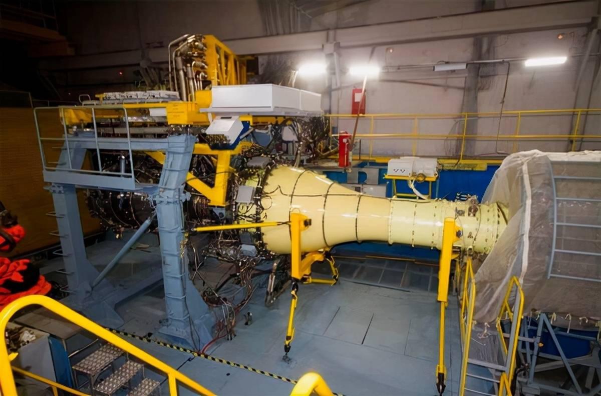俄 PD-35 涡扇发动机核心机开始地面测试