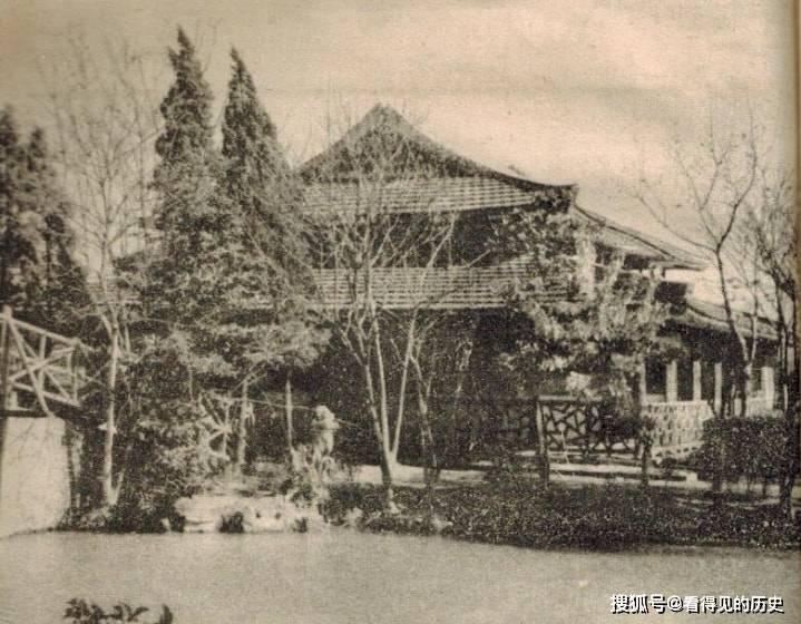 老照片 60年代上海的公园