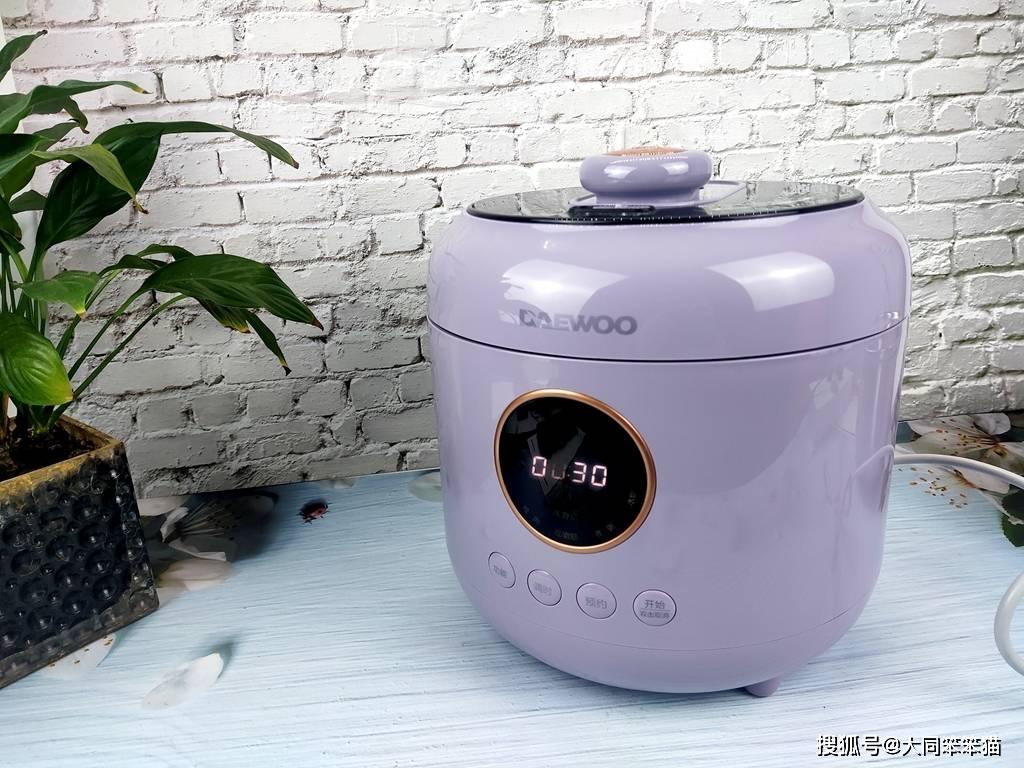大宇电压力锅 一锅双模式 开辟厨房新物种