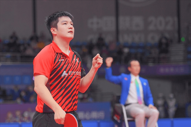 连续四届直通赛冠军!能否换来樊振东的第一个世乒赛男单冠军?