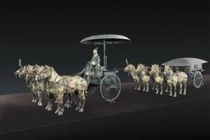青銅之冠——秦始皇帝陵銅車馬
