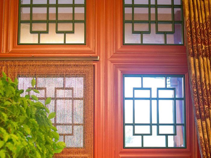 铝艺仿古花窗