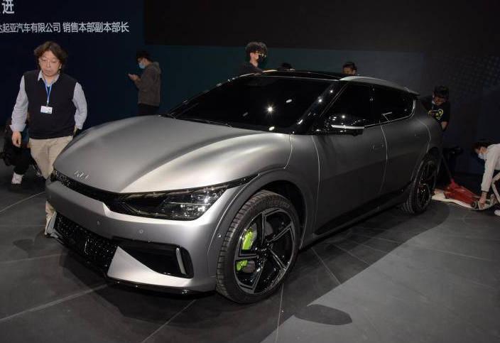 2021上海车展:起亚EV6 GT亮相