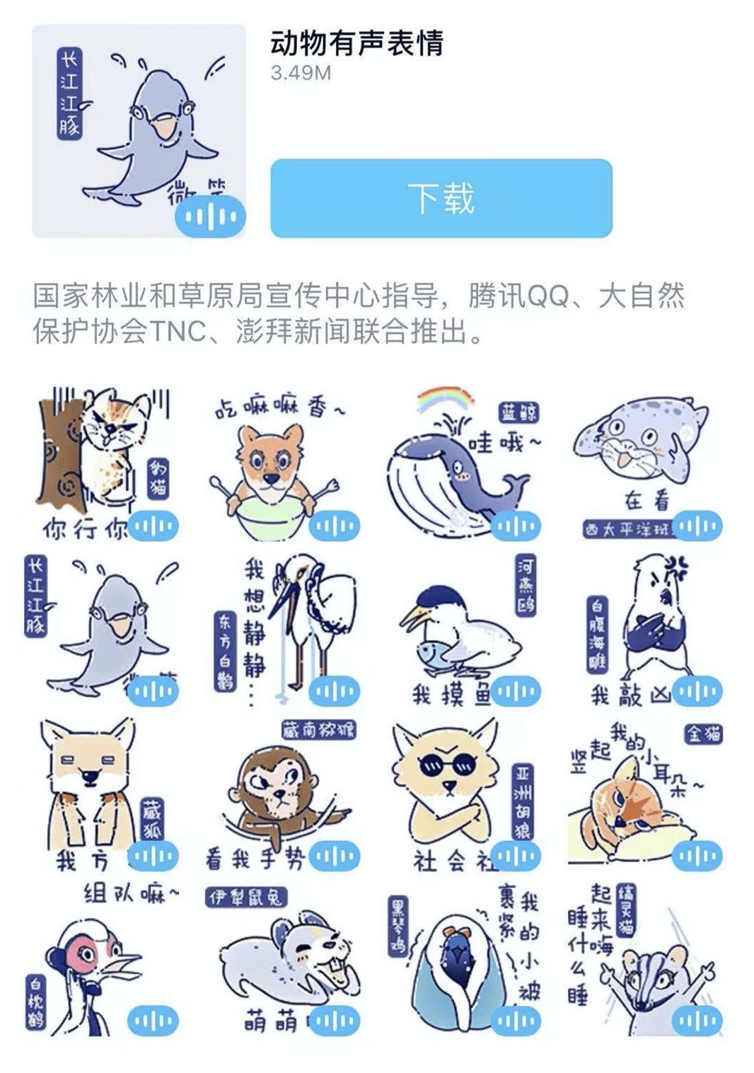 世界地球日,腾讯QQ联合TNC、澎湃新闻开展动物保护科普