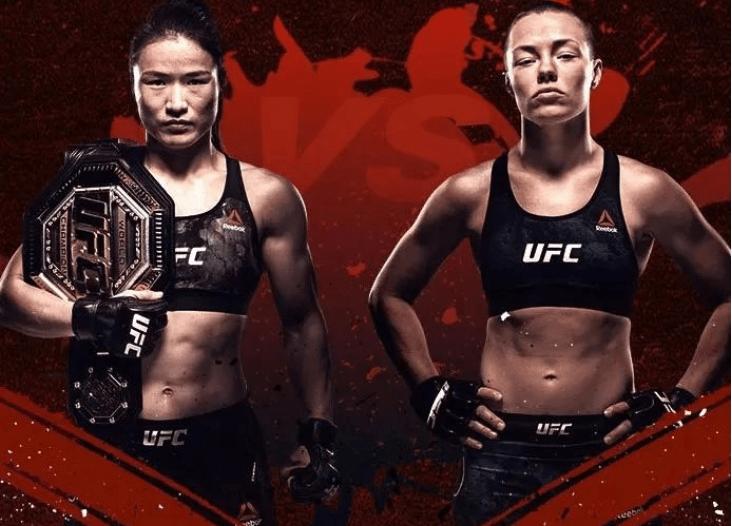 UFC草量级世界冠军战直播:张伟丽vs罗斯 铿锵女将争夺最高荣耀!