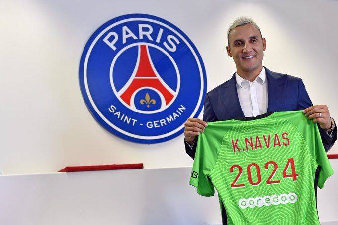 巴黎官宣续约纳瓦斯三年 主席:他是世界最佳门将