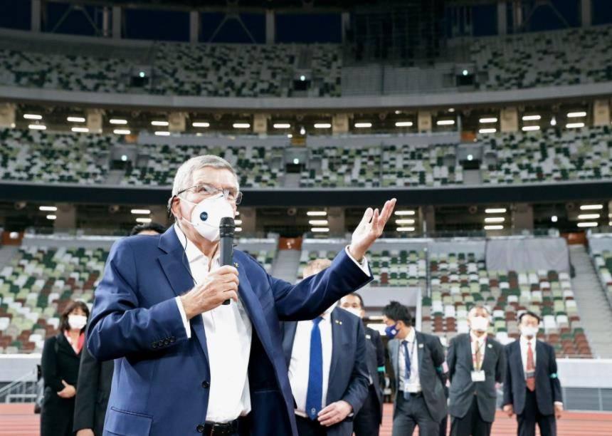 东京奥组委CEO:巴赫取消6月访日计划 推迟到7月