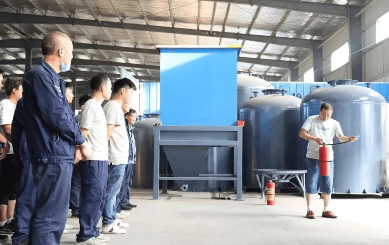 沁润泽环保举行安全生产月培训活动(图3)