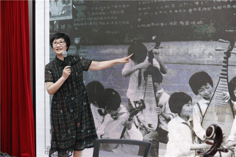 感悟韵贯千载的琵琶之美 北京市东城区少年宫举行琵琶专家讲座活动