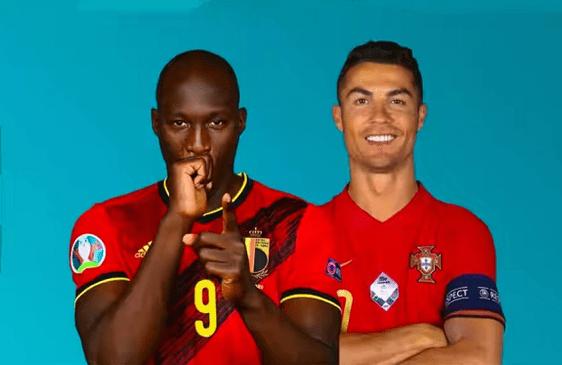 欧洲杯1/8决赛直播:比利时vs葡萄牙 C罗PK卢卡库,欧洲红魔实力强硬!
