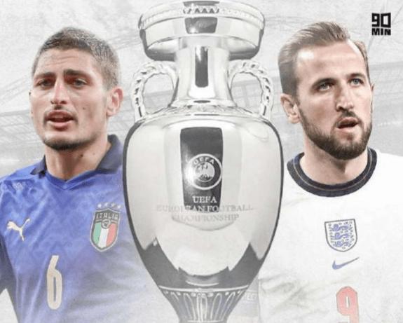 欧洲杯决赛直播:英格兰vs意大利 荣誉之争,三狮军团激战蓝衣军团!