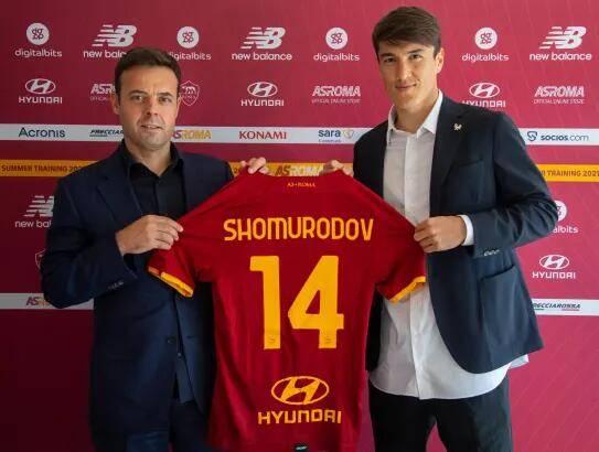 罗马官宣绍穆罗多夫加盟 转会费1750万欧签约五年