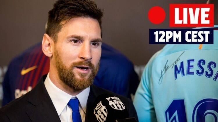 巴萨官方:梅西明日18时举行发布会 向球迷告别_辉煌娱乐平台