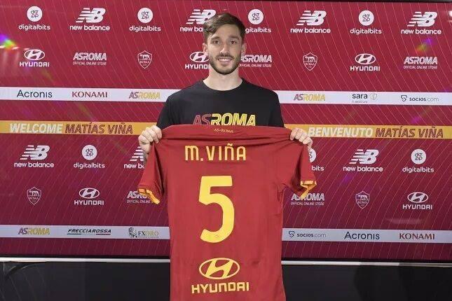 官方:罗马签下乌拉圭左后卫维纳 转会费1300万欧_欧洲杯推荐