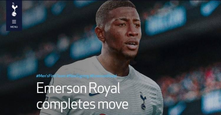 官方:热刺签下巴萨边卫埃莫森 转会费2500万欧