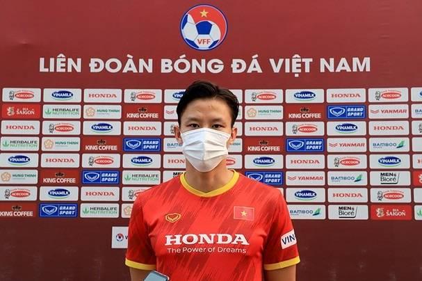 越南队队长期待主场观众观战 11月双赛目标取得积分