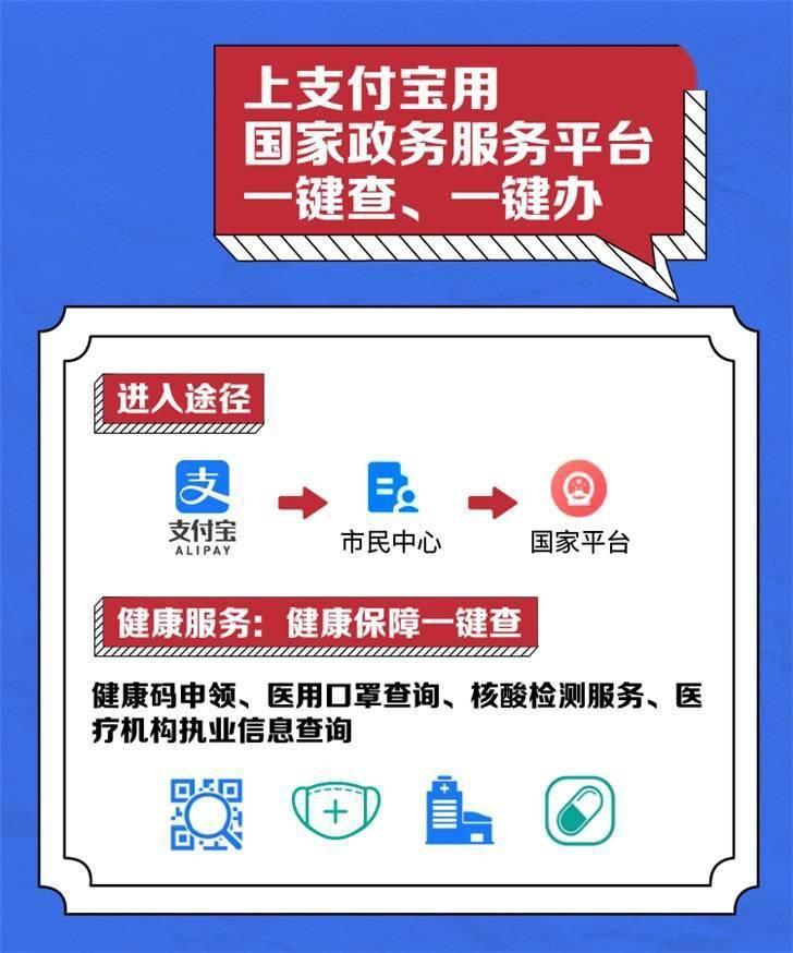 """太方便了!支付宝:已支持 29 省市 """"一网通办""""小程序"""