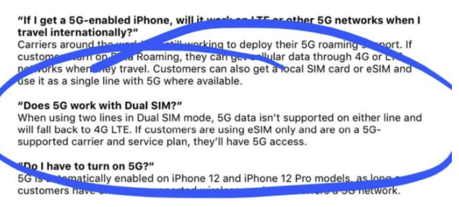 iPhone12暂时不支持双卡5G:后续计划通过软件开启
