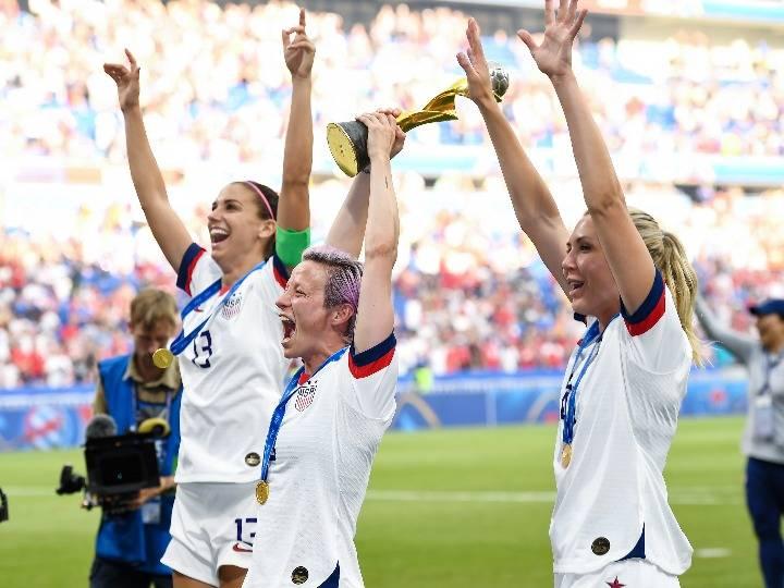 美国女足球星拉皮诺:重归国家队令人感到兴奋