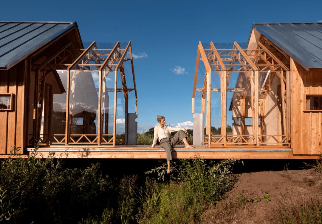 荷兰人造房子可以一分为二!