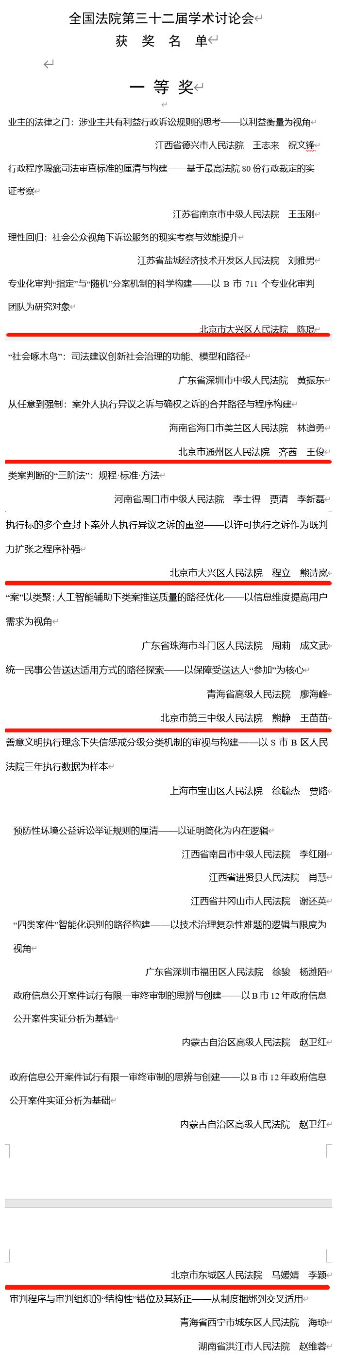 165篇论文、9家法院获奖!北京法院在全国法院学术讨论会上再获佳绩