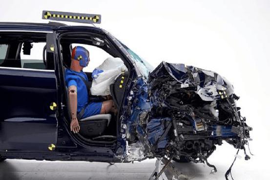碰撞测试里的尖子生,在真车对撞的时候也一样优秀吗?