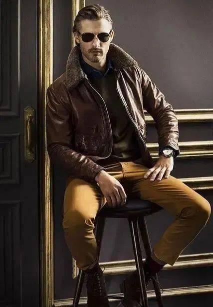 时尚又成熟的质感搭配!商务型男必学的正式休闲风 爸爸 第18张