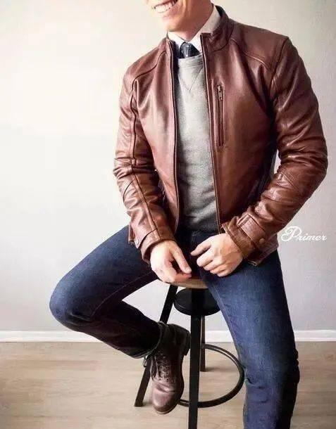 时尚又成熟的质感搭配!商务型男必学的正式休闲风 爸爸 第17张