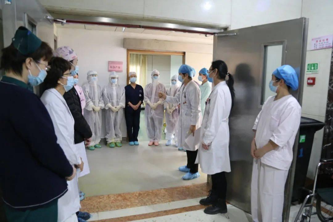 徐州市妇幼保健院进行孕产妇安全助产新冠防控应急演练