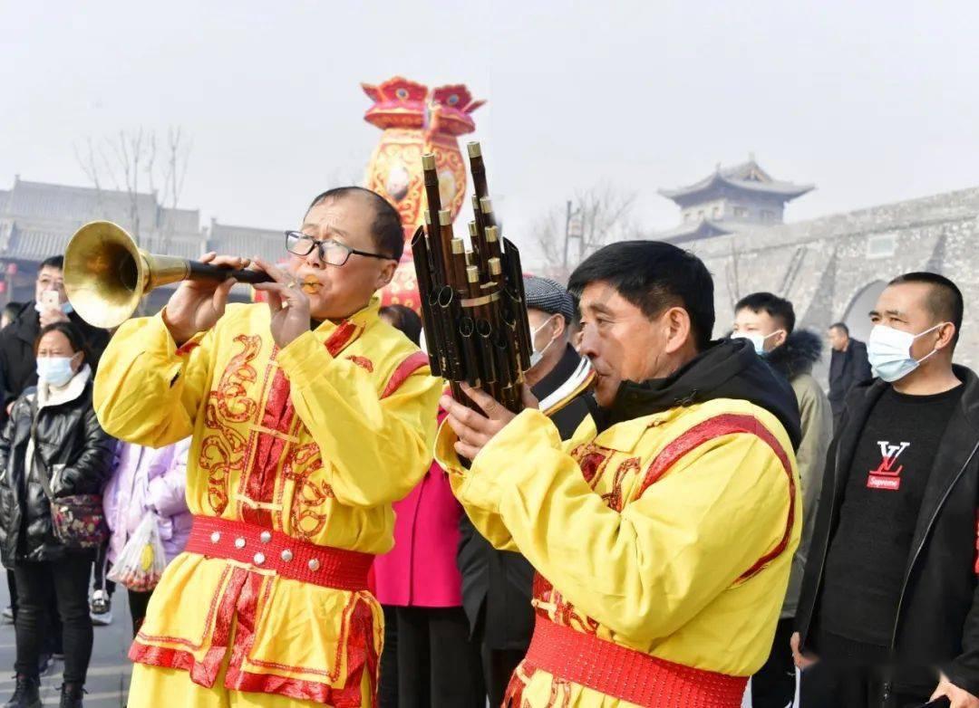 中国年在忻州:忻州古城真红火  第10张