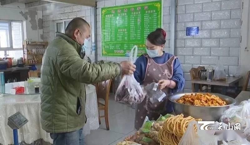 风干肉、烤鱼……农家小院的特色美食春节走俏